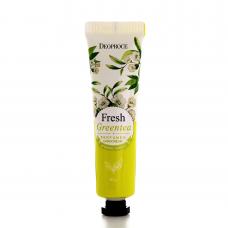 Deoproce Fresh Greentea Perfumed Hand Cream 50g / Парфюмированный крем для рук с экстрактом зеленого чая