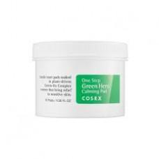 COSRX One Step Green Hero Calming Pad / Успокаивающие пады для лица