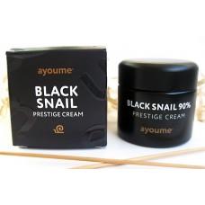 Крем для лица на основе муцина черной улитки / Black snail prestige cream 70ml