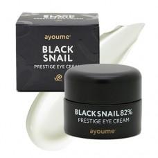 Крем для кожи вокруг глаз с муцином черной улитки / Ayoume Black snail prestige eye cream 30ml