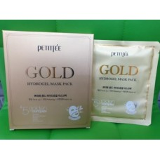 Гидрогелевая маска с золотом 5шт / Petitfee GOLD Hydrogel Mask pack 5ea