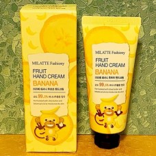 Крем для рук с экстрактом банана / FASHIONY FRUIT  HAND CREAM - BANANA 60ml