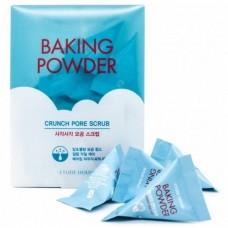 Скраб для очищения пор с содой  7гр*24шт / Baking powder squaer pore scrub