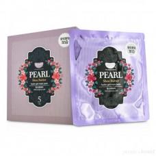 Гидрогелевая маска с жемчугом и маслом Ши 5шт / Koelf Pearl & Shea Butter Mask pack 5ea