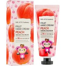 Крем для рук с экстрактом персика / FASHIONY FRUIT  HAND CREAM - PEACH 60ml