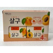 CLIO Apricot soap набор мыла туалетного с экстрактом абрикоса