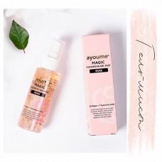 Гель-мист для лица очищающий с розой / Ayoume Magic cleansing gel mist Rose 50ml