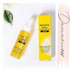Гель-мист для лица очищающий с лимоном / Ayoume Magic cleansing gel mist Lemon 50ml