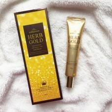 Антивозрастной крем для кожи вокруг глаз / Estheroce Herb Gold Whitening & Wrinkle Care Eye Cream 40g