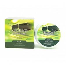 Питательный крем для лица и тела с экстрактом алоэ / Deoproce Natural Skin Aloe Nourishing Cream 100g