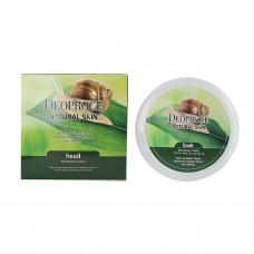 Питательный крем для лица и тела на основе муцина улитки / Deoproce Natural Skin Snail Nourishing cream 100g