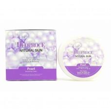 Питательный крем для лица и тела с жемчугом / Deoproce Natural Skin Pearl Nourishing Cream 100g