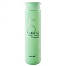 MASIL 5 Probiotics Scalp Scaling Shampoo 300ml / Глубокоочищающий шампунь с пробиотиками