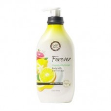 HAPPY BATH Forever Grapefruit & Ginger Body Milk 450ml / Молочко для тела с экстрактом грейпфрута и имбиря