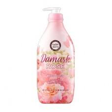 HAPPY BATH Damask Rose Body Wash 900g / Гель для душа с ароматом дамасской розы