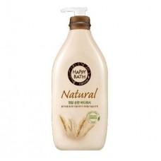 HAPPY BATH Natural Mild Grain Complex Body Wash 900g / Гель для душа с экстрактом органических зерен