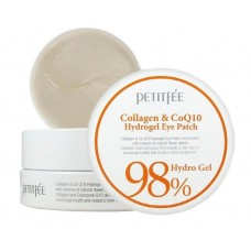 Гидрогелевые патчи для век с коллагеном и коэнзимом Q10 / Petitfee Collagen & CoQ10 Hydrogel Eye Patch