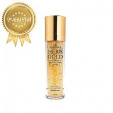 Deoproce Estheroce Herb Gold Whitening And Wrinkle Care Toner 135ml / Анти возрастной тонер на золоте 99.9%