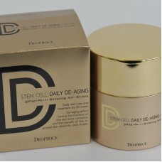 Крем DD маскирующий #21 / Deoproce stem cell daily de-aging cream 40g