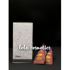 Скраб для лица с порошком какао / [PUREDERM] Cacao Black Sugar Facial Scrub 20g*12