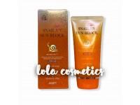 Солнцезащитный крем с муцином улитки / [JIGOTT] Snail Uv Sun Block Cream SPF50+/PA+++