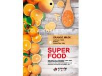 Набор тканевых масок для лица c экстрактом апельсина EYENLIP super food orange mask x 10 ea
