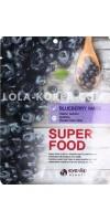 Набор тканевых масок для лица c экстрактом черники EYENLIP super food blueberry mask x 10 ea