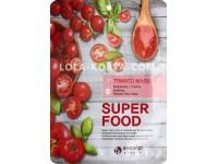 Набор тканевых масок для лица c экстрактом томата EYENLIP super food tomato mask x 10 ea