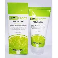 Гель с экстрактом лимона / Lime fizzy peeling gel 120ml