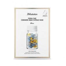 JMsolution Derma Care Ceramide Aqua Capsule Mask 10pcs / Восстанавливающая целлюлозная маска с керамидами