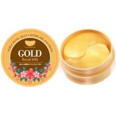 Гидрогелевые патчи для глаз маточным молочком и микрочастицами золота / Koelf Gold & Royal Jelly Eye Patch