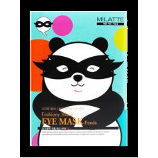 Маска для кожи вокруг глаз - Панда 10шт/ Fashiony Black eye mask - Panda