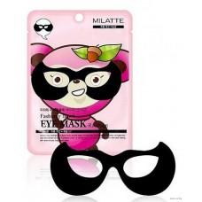 Маска для кожи вокруг глаз - Енот 10шт/ Fashiony Black eye mask - Racoon