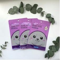 Тканевая омолаживающая маска тканевая с экстрактом жемчуга 10шт / Fashiony Pearl mask sheet
