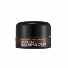 MIZON All In One Snail Repair Cream Mini 15ml / Антивозрастной крем для лица с муцином улитки (миниатюра)