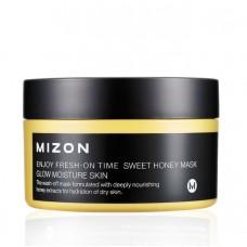 MIZON Enjoy Fresh-On Time Sweet Honey Mask 100ml / Медовая маска для сухой кожи