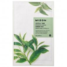 MIZON Joyful Time Essence Mask - Green Tea / Тканевая маска для лица с экстрактом зеленого чая