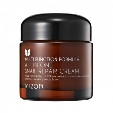 MIZON All In One Snail Repair Cream 75ml / Антивозрастной крем для лица с муцином улитки