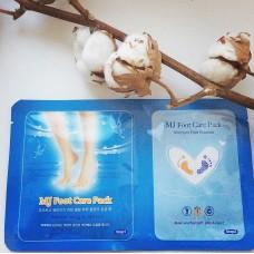 Маска для ног  с гиалуроновой кислотой 1шт/ MJ Care FOOT CARE PACK