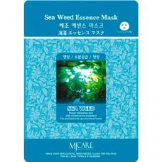 Маска тканевая с экстрактом Морских водорослей  1шт/ MJ Care Sea Weed Essence Mask