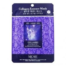 Маска тканевая с коллагеном  1шт/ MJ Care Collagen Essence Mask