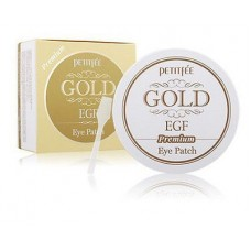 Гидрогелевые патчи для глаз с экстрактом золота/ Petitfee premium Gold & EGF Eye Patch