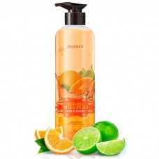Deoproce Healing Mix & Plus Body Cleanser 750g - Lime Citrus / Гель для душа с ароматом цитрусов
