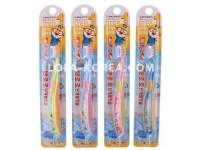 Детская зубная щетка PORORO Children's toothbrush step 1 (yellow, blue, yeondu, pink) 1ea