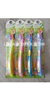 Детская зубная щетка PORORO Children's toothbrush step 2 (yellow, blue, yeondu, pink) 1ea