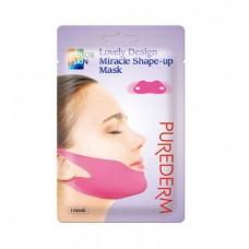 Purederm Lovely Design Miracle Shape-Up Mask / Маска-бандаж для подбородка