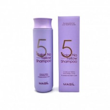 MASIL 5 Salon No Yellow Shampoo 300ml / Тонирующий шампунь для осветленных волос