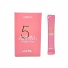 MASIL 5 Probiotics Color Radiance Shampoo Pouch 8ml*20 / Шампунь с пробиотиками для защиты цвета