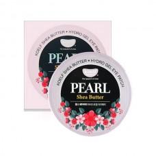 Гидрогелевые патчи для век с микрочастицами натурального жемчуга и маслом Ши / Koelf Pearl & Shea Butter Eye Patch